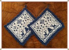 Ravelry: Julenatt gryteklut pattern by Jorunn Jakobsen Pedersen Dishcloth Knitting Patterns, Crochet Potholders, Knit Or Crochet, Washing Clothes, Pot Holders, Cross Stitch Patterns, Ravelry, Free Pattern, Crafts