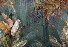 Murals, Frescoes and photo wallpaper, 4 3d Wallpaper, Photo Wallpaper, Bohemian Bedroom Decor, Tropical Decor, Modern Retro, Cool Landscapes, Tropical Leaves, Botanical Prints, Art Pictures