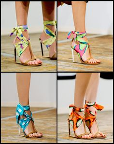 sandals..so creative! Love it!