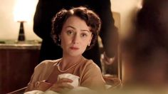 "Lady Agnes (Keeley Hawes) in Upstairs Downstairs 2.1: ""A Far Away Country About Which We Know Nothing"""