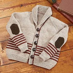 Keep your little guy nice and warm on the way to school or running around outside on a cool autumn afternoon in a sophisticated, yet adorable, cardigan.