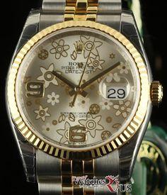 Rolex New Datejust 36mm 116233 Steel Yellow Gold Silver 2015 Box/Paper #RL168