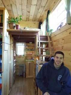 Jess and Dan's Tiny Home on Wheels: Couple Living Tiny and Mortgage-Free