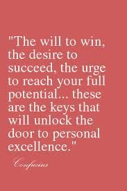 Personal excellence ~ Confucius
