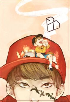 awesome Xiumin fanart