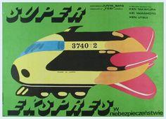 Polish poster for 'Bullet Train'