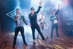 The Lonely Island rehearsing