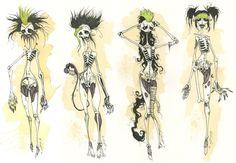 Gris Grimly - Frankenstein's mate