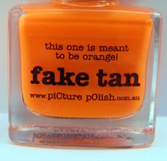 As a pasty Irish lass I am sad to say that oompa loompa orange is an all to frightening reality
