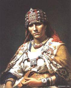 Portrait d'une femme kabyle 1875 Dridgman Fredrick-Arthur by Le Kabyle, via Flickr