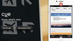 Cue – Todos los eventos y contactos de nuestros calendarios, emails y aplicaciones en un único lugar