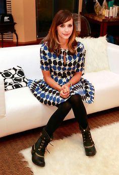 Rashida Jones in Boy. Resort 13 dress at the Whistler Film Festival.