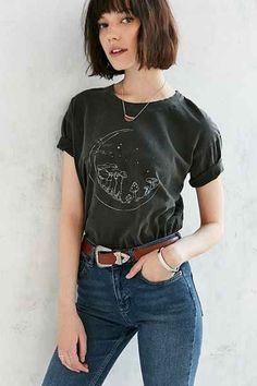 T-shirt champignon et lune Truly Madly Deeply 42$