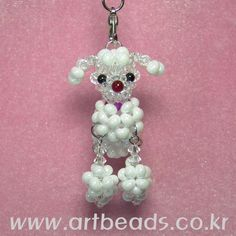 Beaded 3D poodle PATTERN