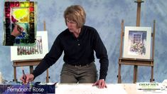 In this free watercolor demo artist Judy Rider shares her technique on how to paint a white picket fence and a bluebird. In Part 1 Judy shows the reference p...