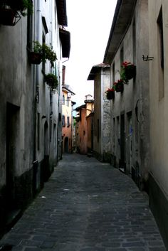 A street in Barga