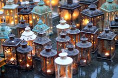 Inspiration for beautiful outdoor lighting...