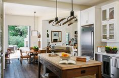 Ojai – Gray Architects Contemporary Kitchen Design, Spanish Revival, Kitchen Cabinets, Architects, Modern, Table, Kitchens, Furniture, Gray