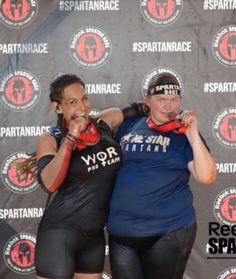 Kimberly and me Texas Spartan sprint 2015