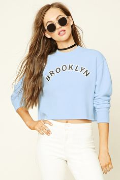 Brooklyn Graphic Sweater