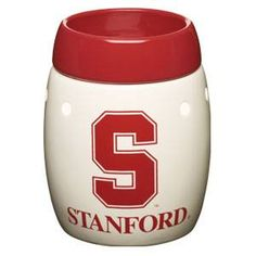 Stanford University Cardinal  - this is the safe (without the safety risks of a burning candle ), wickless alternative to scented candles. This wickless concept is simply decorative ceramic warmers designed to melt scented wax with the heat of a light bulb instead of a traditional wick and flame.