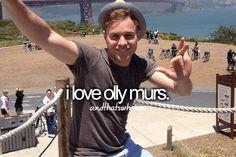 I love Olly Murs
