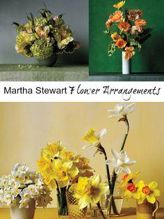 Martha Stewart Flower Arrangements