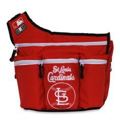Daddy Diaper Bag...Diaper Dude® MLB™ Messenger Diaper Bag - Saint Louis Cardinals