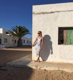Wandering the empty streets of La Graciosa - a tiny island off the coast of Lanzarote and a real hidden gem