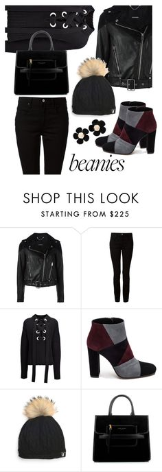 """Black Sweatshirt"" by sara12alexandra ❤ liked on Polyvore featuring Diesel, T By Alexander Wang, Joseph, Roberto Festa, Tallis, Marc Jacobs and L. Erickson"