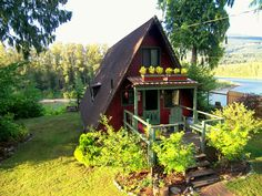 Outdoor Wooden Playhouse #tinyhouseexperts