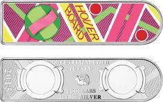 Perth Bullion 2015 Back to the Future - Hoverboard 2oz Silver Coin