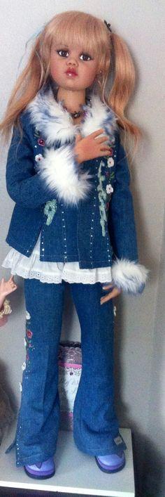 Jan Mclean doll Nikkie:)   Beautiful dolls   Pinterest