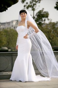 Bridal Wedding Veil Two Tier Cathedral Shoulder Length Ivory Tulle Rhinestone -- Read more reviews of the product by visiting the link on the image.