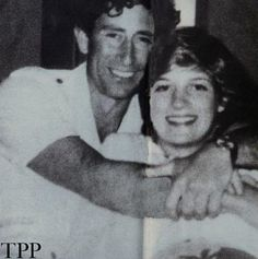 lovelydianaprincessofwales:    Very rare picture of Prince Charles and Princess Diana.