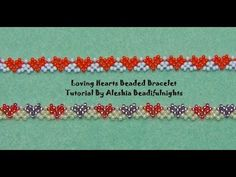 Snazzy Beaded Bracelet or Anklet Tutorial - YouTube