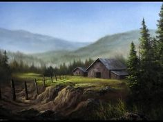 Paint with Kevin Hill - Farmland Scene - YouTube