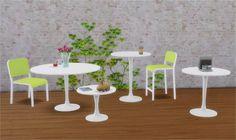 Veranka: IKEA Inspired Melltorp & Docksta • Sims 4 Downloads