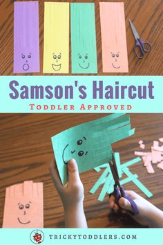 Scissors Practice Activity Samson Haircuts