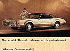 1967 Oldsmobile Toronado  I thought this was the coolest car on the street in 1967