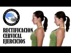 Rectificacion cervical, ejercicios para aliviar el dolor - YouTube
