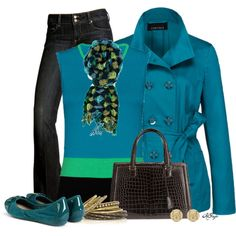 """""""Bright Winter Weekend Style"""" by kginger on Polyvore"""