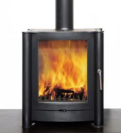 Firebelly FB1 contemporary Woodburning stove or multi fuel stove