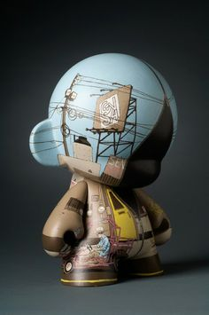 Adam Haynes' custom Munny #design #illustration