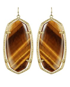 """Kendra Scott """"Danielle"""" - have these in white, would love in brown"""