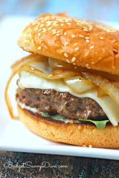 The BEST Burger Ever Recipe
