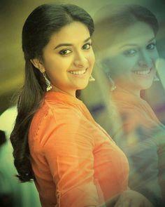 Keerthi Suresh Photos: Hot & Sexy Pics of Telugu actress Beautiful Girl Indian, Most Beautiful Indian Actress, Beautiful Actresses, Simply Beautiful, Indian Film Actress, South Indian Actress, Indian Actresses, South Actress, India Beauty