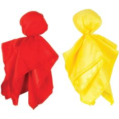 Club Pack of 24 Yellow Penalty and Red Challenge Football Party Flags 7