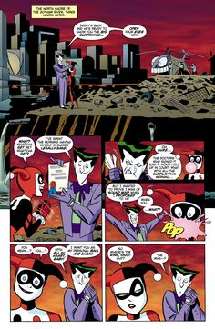 A Very Joker Wedding - featuring Harley Quinn and The Joker (The Batman Adventures vol 2 #16 – The Bride of The Joker)