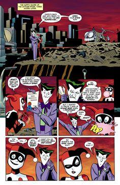 A Very Joker Wedding - featuring Harley Quinn and The Joker (The Batman Adventures vol 2 #16 – The Bride of The Joker)